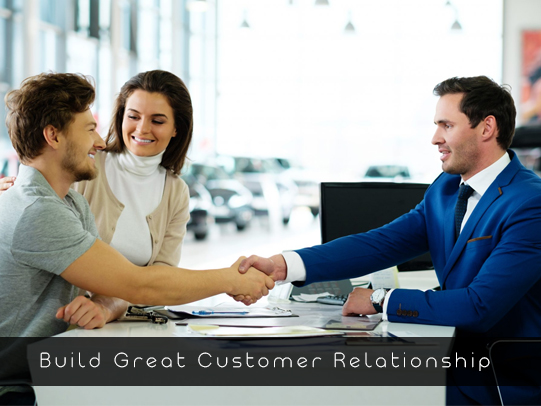 Build Great Customer Relationship