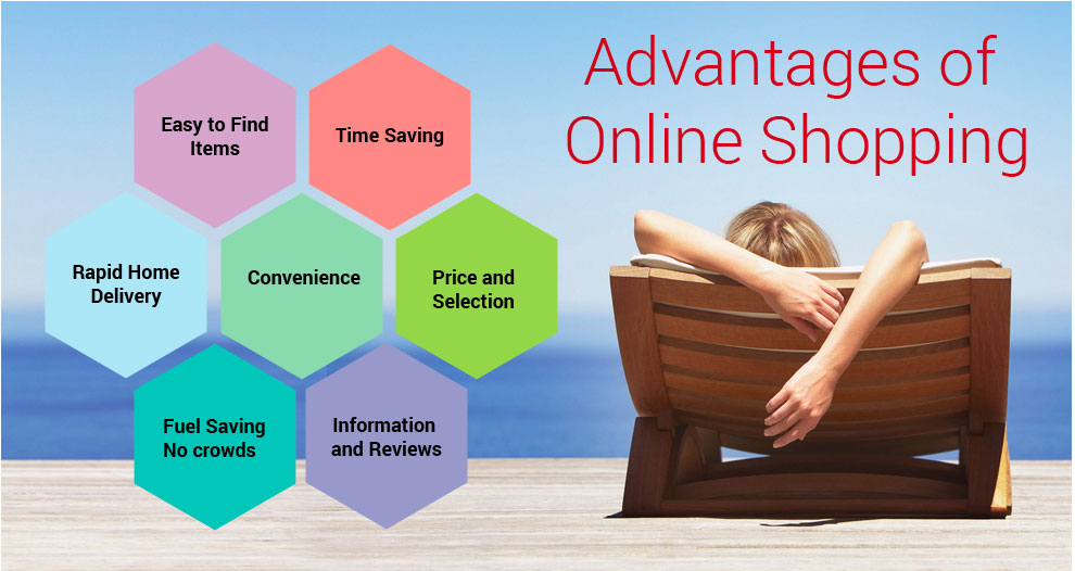 benefits of online shopping