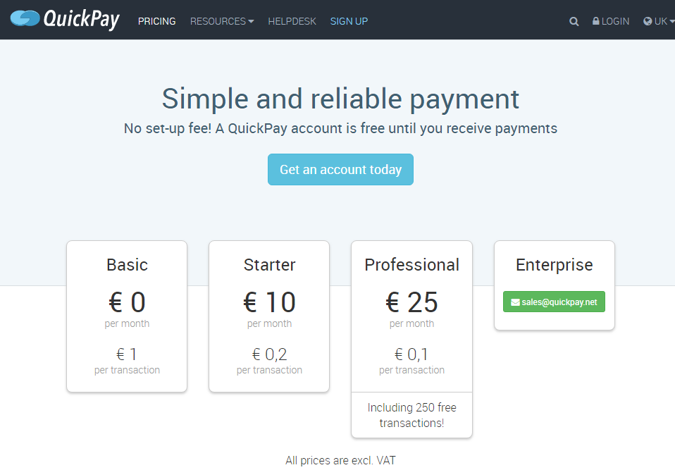 quickpay simple and reliable payment