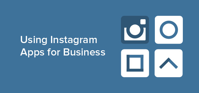 using instagram app for business