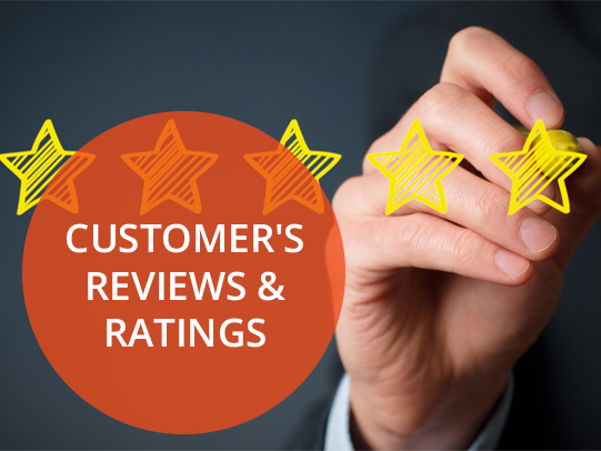 Customer's Reviews & Ratings