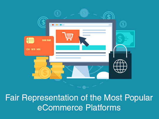 Fair Representation of the Most Popular eCommerce Platforms