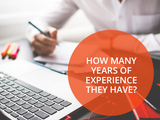How Many Years of Experience Magento Developers Have