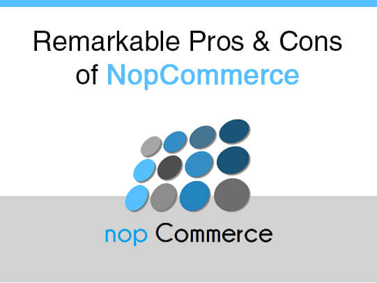 Remarkable Pros & Cons of nopCommerce
