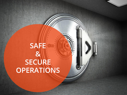 Safe & Secure Operations