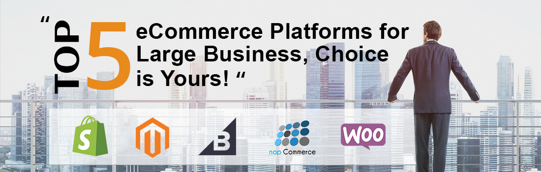 Top 5 eCommerce Platforms to Launch an eCommerce Store Without Fail