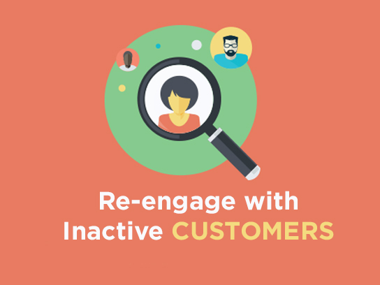 re-engage with inactive customer