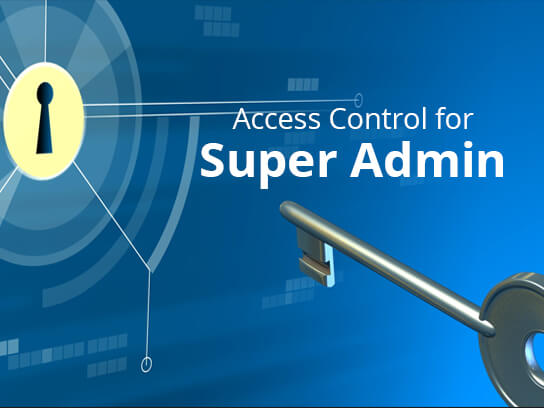 Access Control for Super Admin