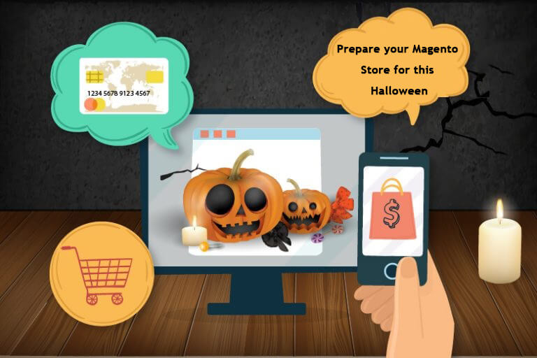 Make your Magento store Halloween Ready!